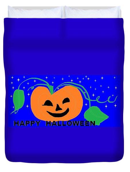 Happy Halloween 1 Duvet Cover