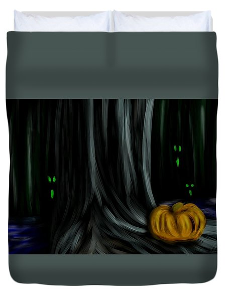 Happy Halloween Duvet Cover