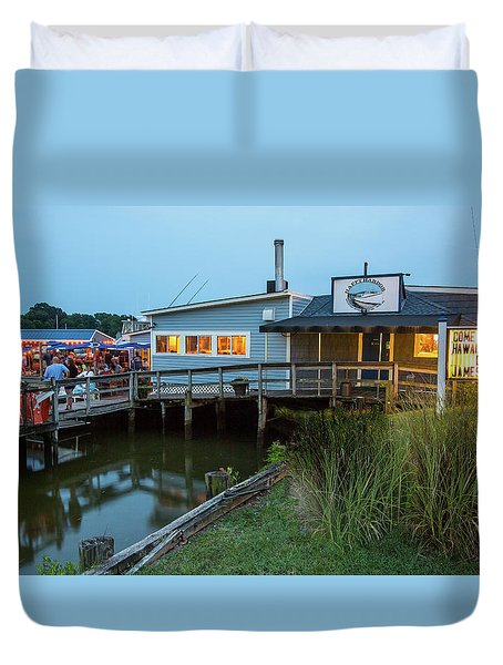 Happy Harbor Duvet Cover