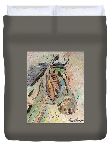 Happy Horse Duvet Cover