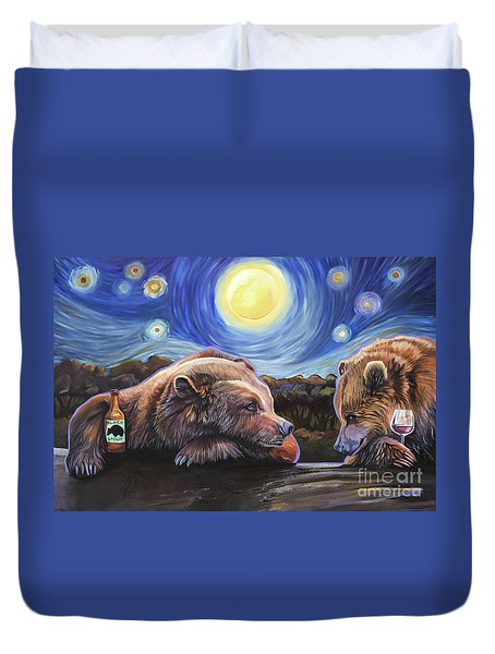 Happy Hour Duvet Cover