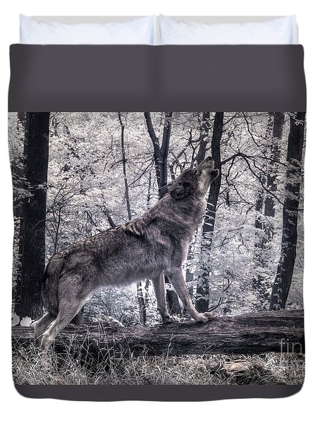 Happy Howlidays Duvet Cover
