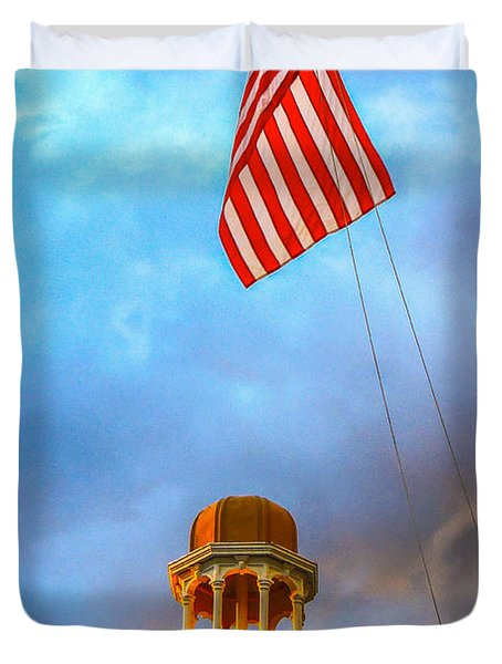 Happy Memorial Day  Duvet Cover