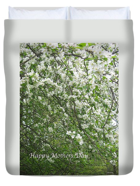 Happy Mothers Day Duvet Cover