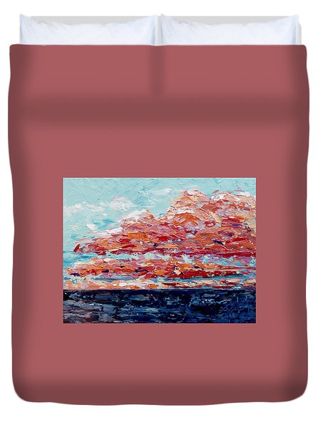 Happy Notes Duvet Cover