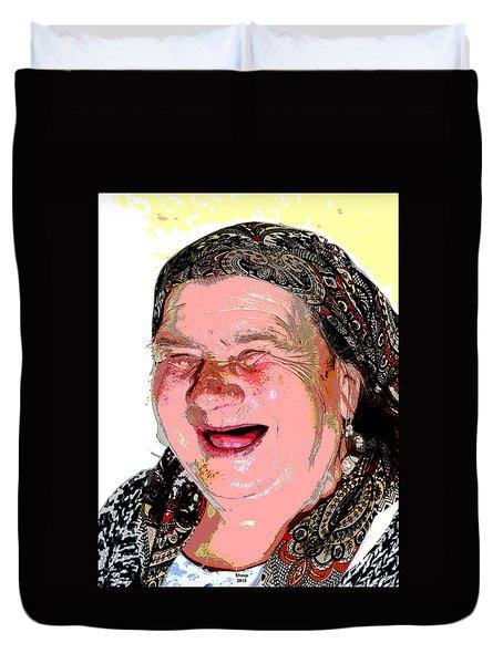 Babcia Duvet Cover