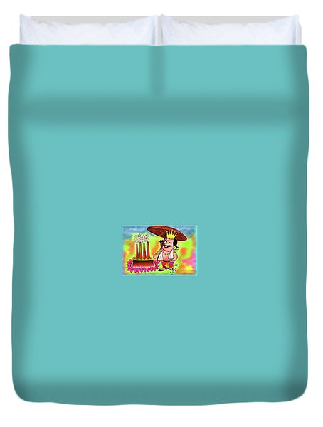 Happy Onam Duvet Cover