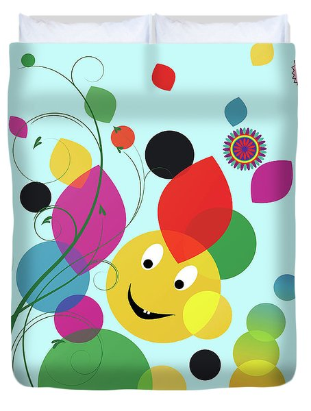 Happy Spring Image Duvet Cover by Heinz G Mielke