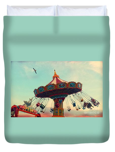 Happy Swing Duvet Cover
