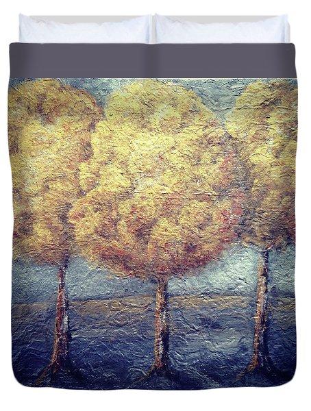 Happy Trees Duvet Cover