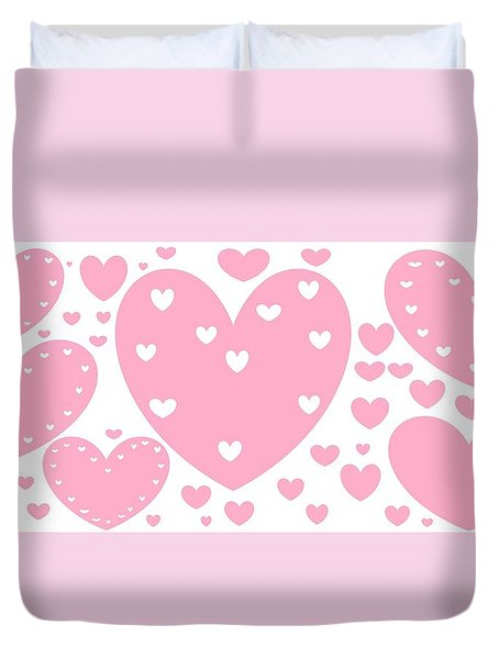 'just Hearts' Duvet Cover