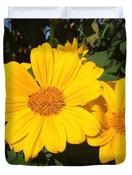 Happy Yellow Duvet Cover