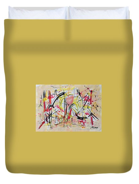 Happyness Duvet Cover