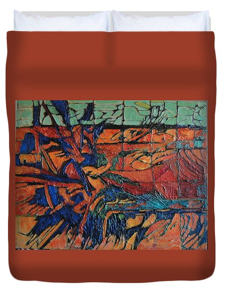 Harbingers Duvet Cover by Bernard Goodman
