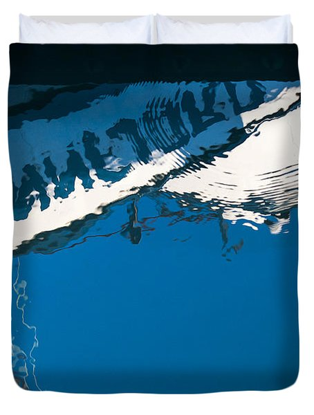 Harbor Blue Duvet Cover