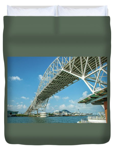 Harbor Bridge Duvet Cover