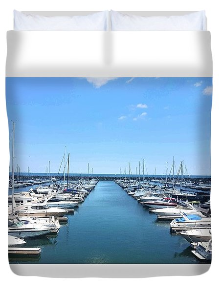 Harbor Life Duvet Cover