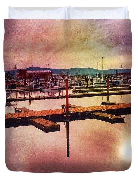 Harbor Mood Duvet Cover