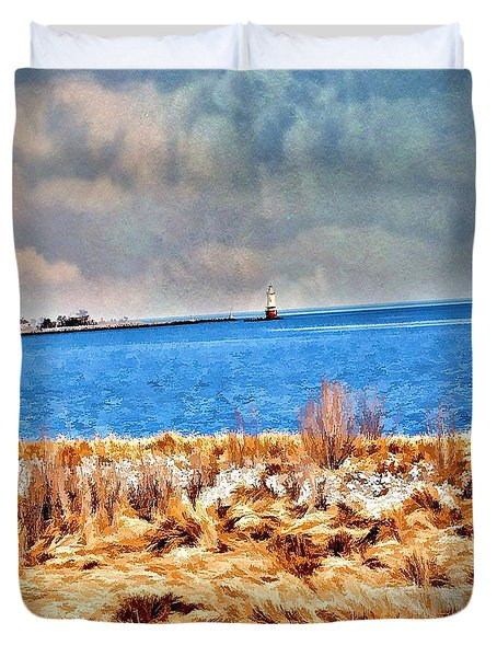 Harbor Of Tranquility Duvet Cover