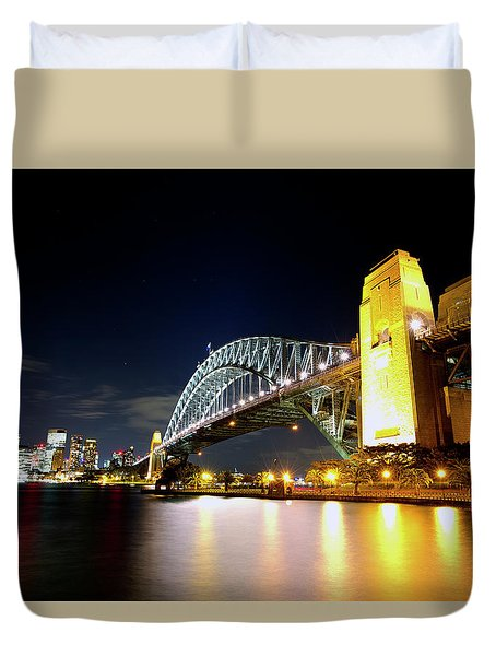 Harbour City Duvet Cover