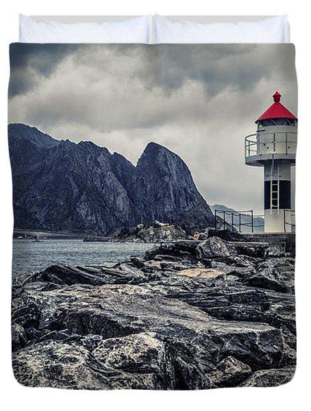 Harbour Lighthouse Duvet Cover