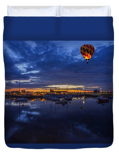 Harbour Night Flight Duvet Cover