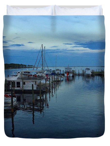 Harbour Nights Duvet Cover