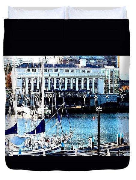 Harbour Sail Duvet Cover