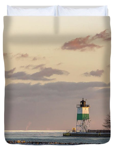 Harbour Sunset Duvet Cover