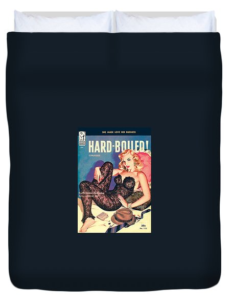 Hard-boiled Duvet Cover