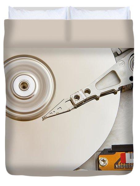 Hard Drive Duvet Cover