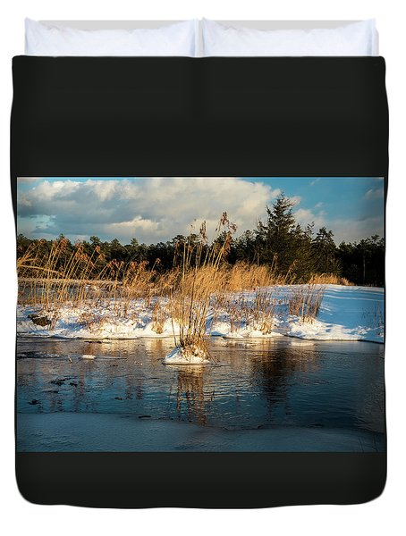 Hard Frosts And Icy Drafts Duvet Cover