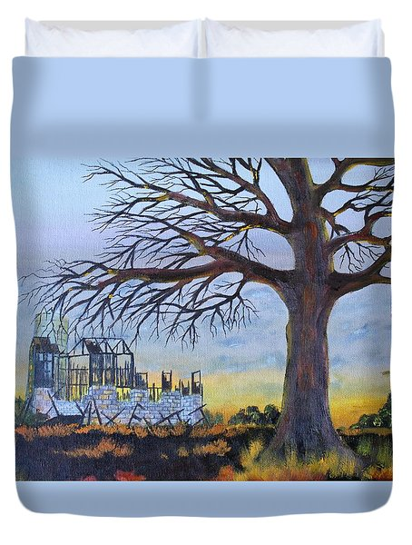 Hard Life Remnants Duvet Cover