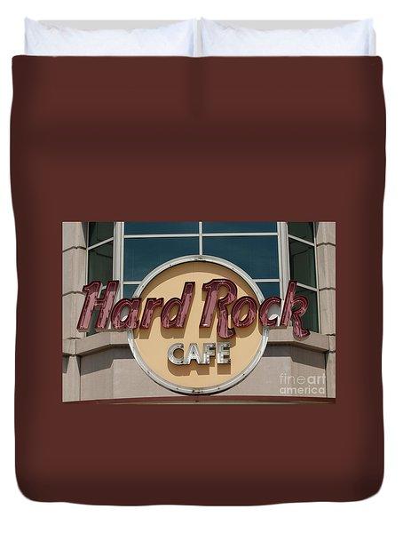 Hard Rock Cafe Duvet Cover