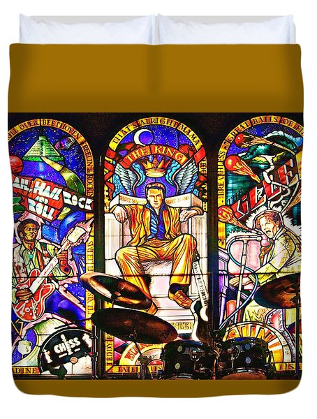 Hard Rock Cafe Duvet Cover