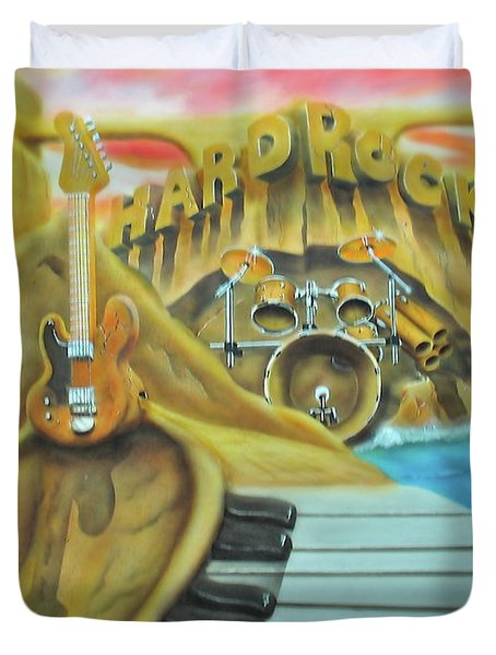 Hard Rock Duvet Cover
