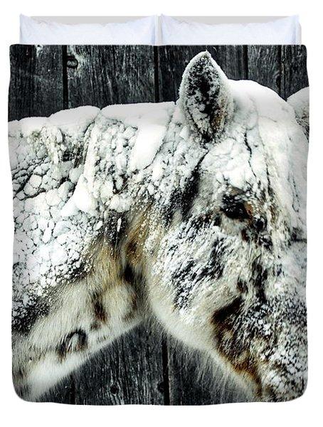 Hard Winter Duvet Cover