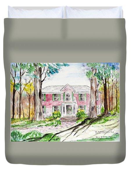 Hardaway House Duvet Cover
