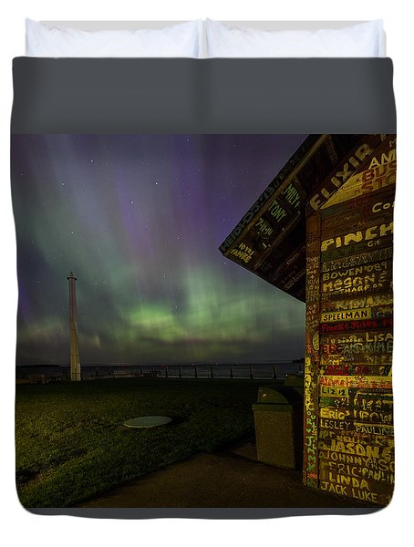 Hardy Gallery Northern Lights Duvet Cover