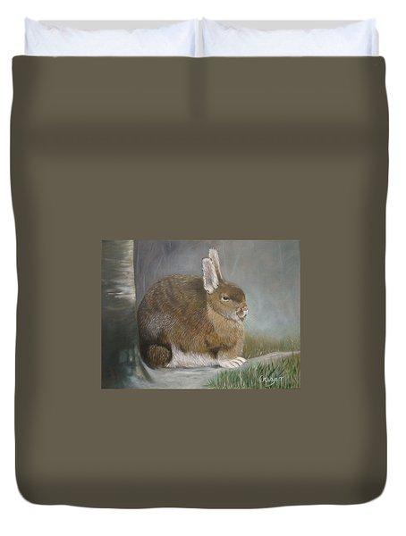 Hare Duvet Cover by Jean Yves Crispo