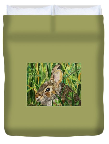 Hare's Breath Duvet Cover