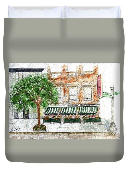 Harlem Shake Duvet Cover