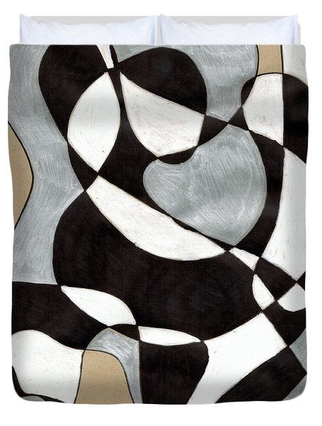 Harlequin Abtracted Duvet Cover
