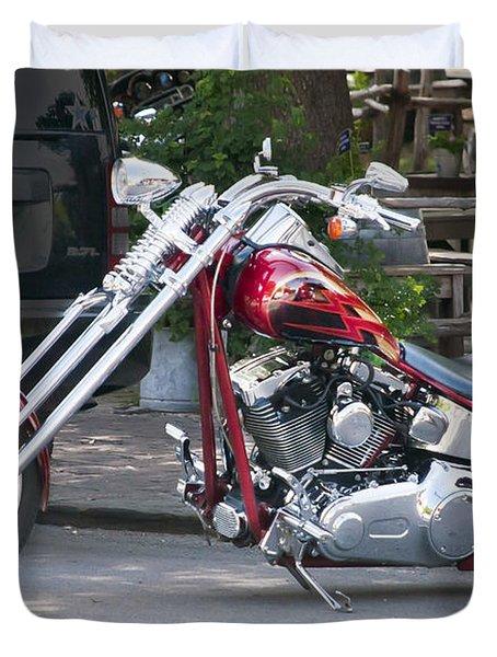 Harley Chopped Duvet Cover