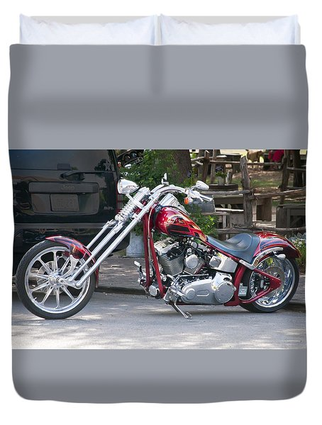 Harley Chopped Duvet Cover