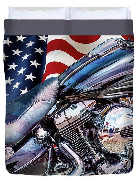Harley-davidson 103 - B Duvet Cover