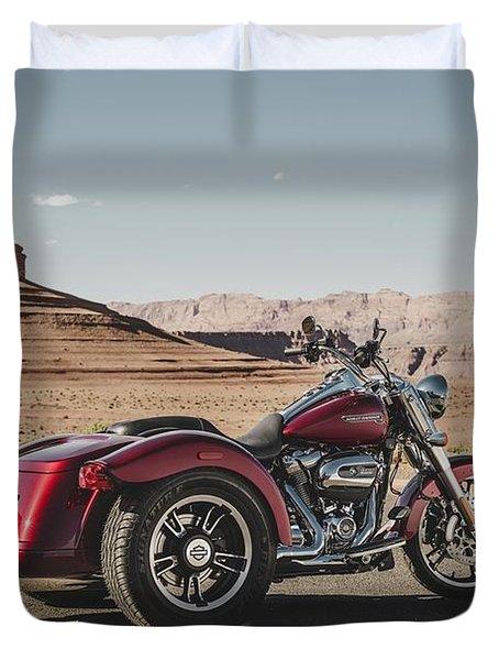Harley-davidson Freewheeler Duvet Cover