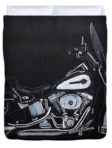 Harley Davidson Snap-on Duvet Cover