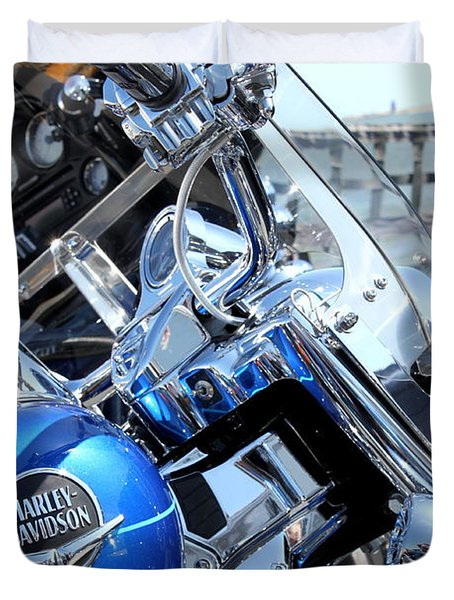 Harley-davidson Duvet Cover by Valentino Visentini