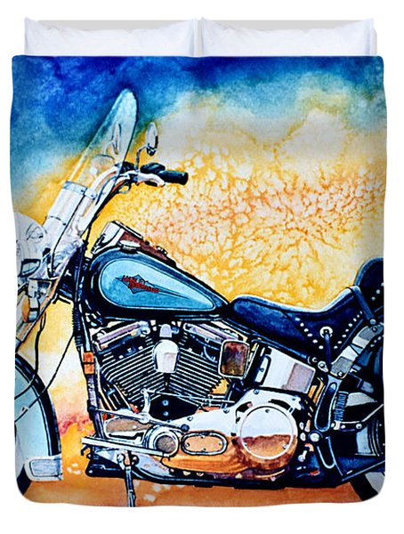 Harley Hog I Duvet Cover